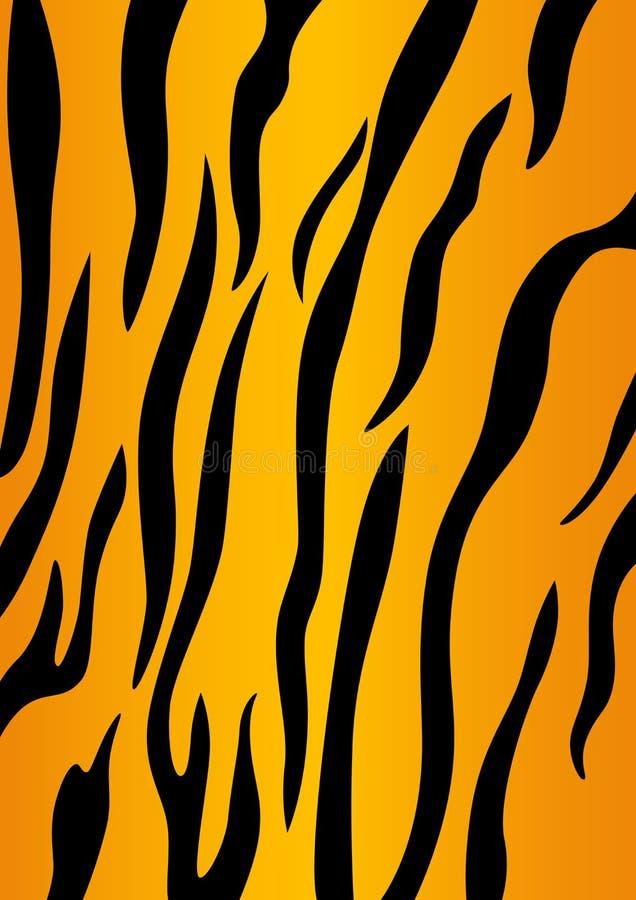 тигр кожи иллюстрация штока