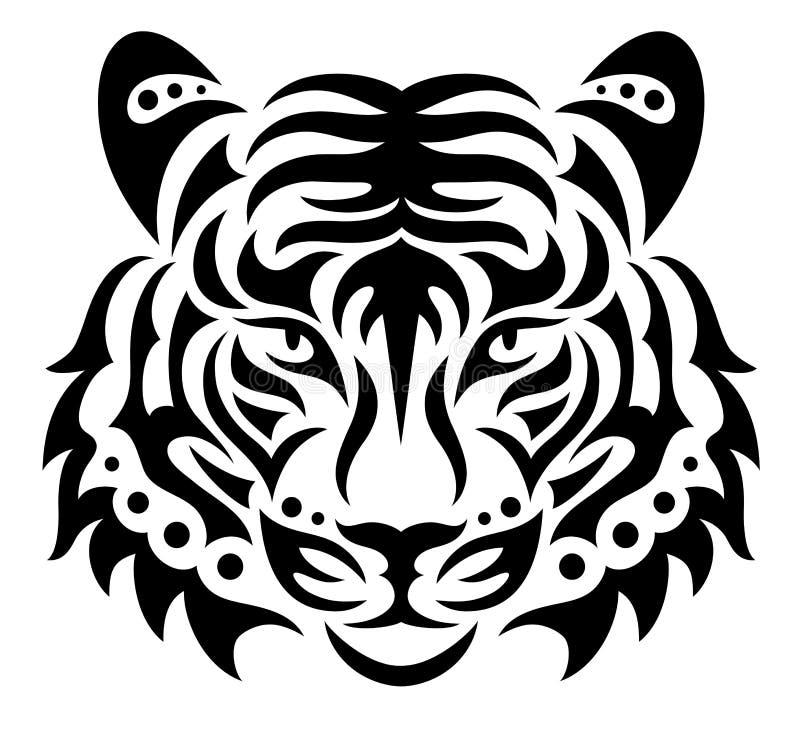 Тигр иллюстрация штока