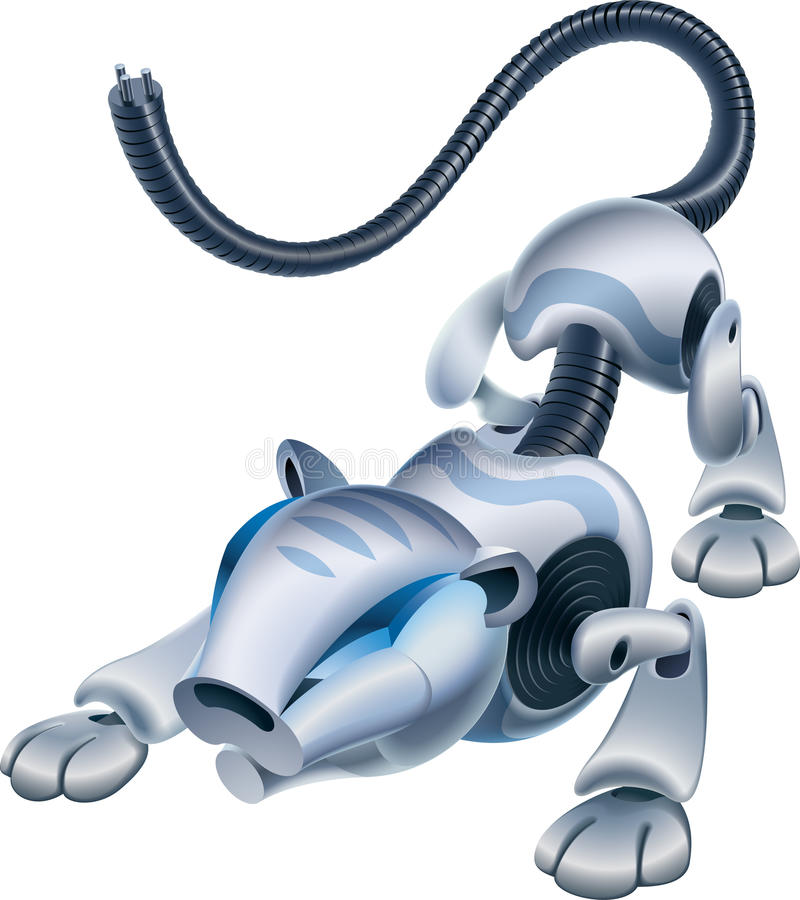 тигр robo иллюстрация штока