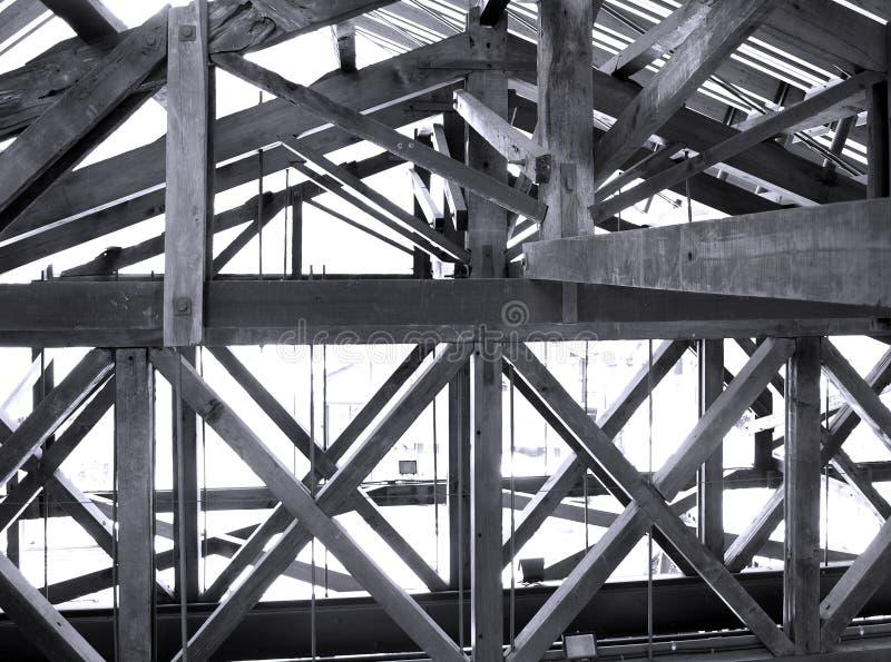 тимберсы комплекса чердака стоковая фотография