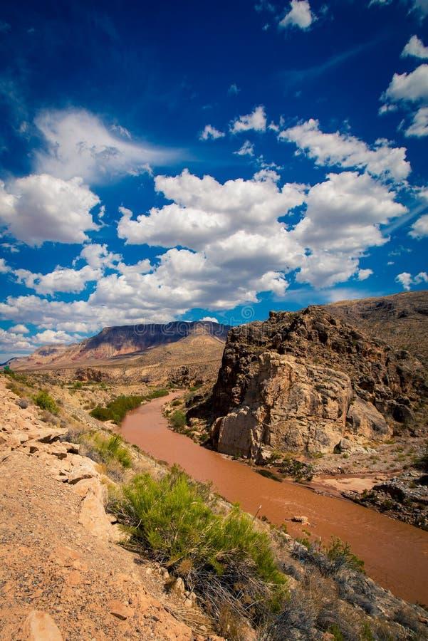 Тинное река в Юте стоковая фотография rf