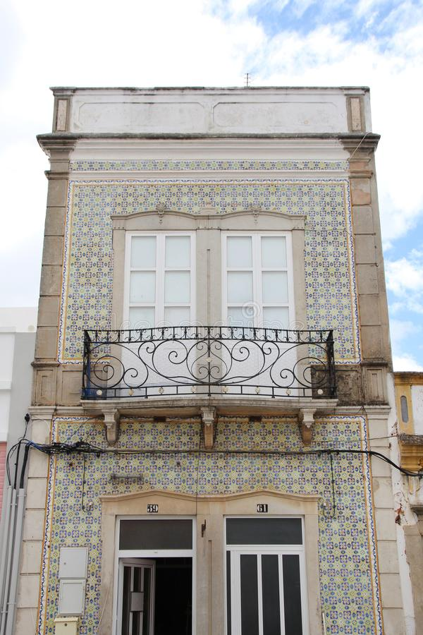Типичная архитектура Алгарве стоковые изображения rf