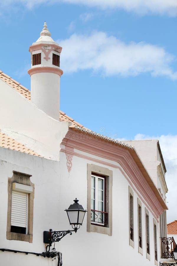 Типичная архитектура Алгарве стоковое изображение