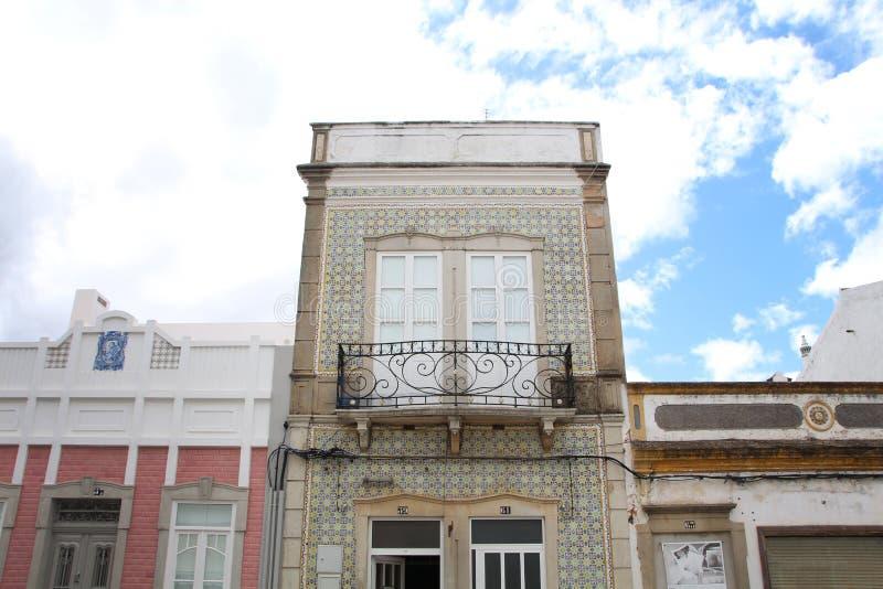 Типичная архитектура Алгарве стоковые фото