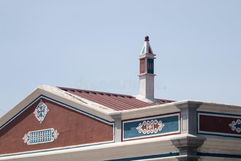 Типичная архитектура Алгарве стоковые фотографии rf
