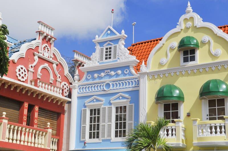 Типичная архитектура дизайна голландца стоковая фотография rf