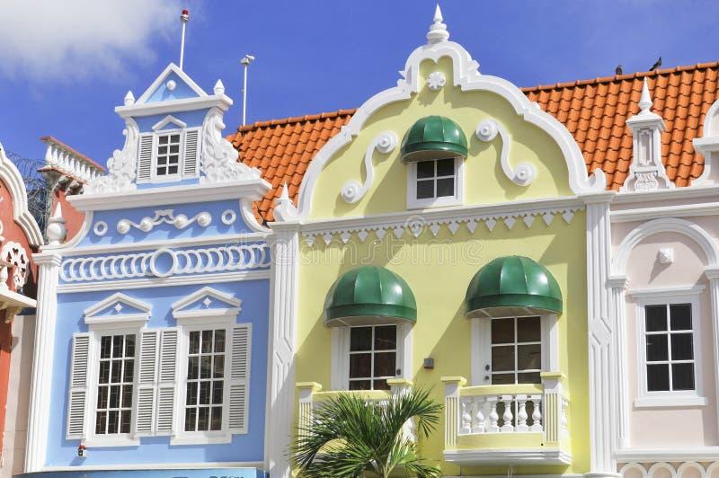 Типичная архитектура дизайна голландца стоковое изображение