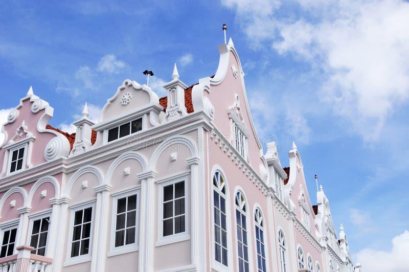 Типичная архитектура дизайна голландца стоковое фото rf