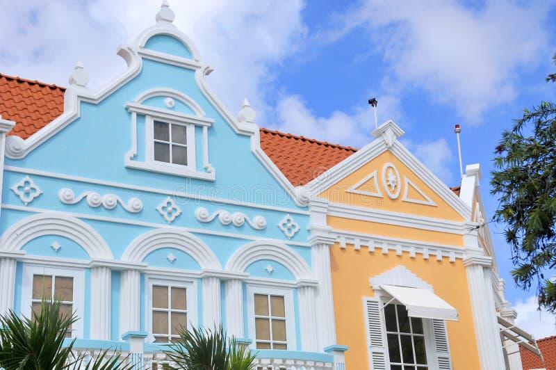 Типичная архитектура дизайна голландца стоковое фото