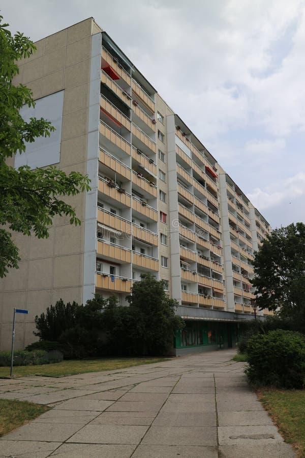 Типичная архитектура от ГДР стоковое изображение rf