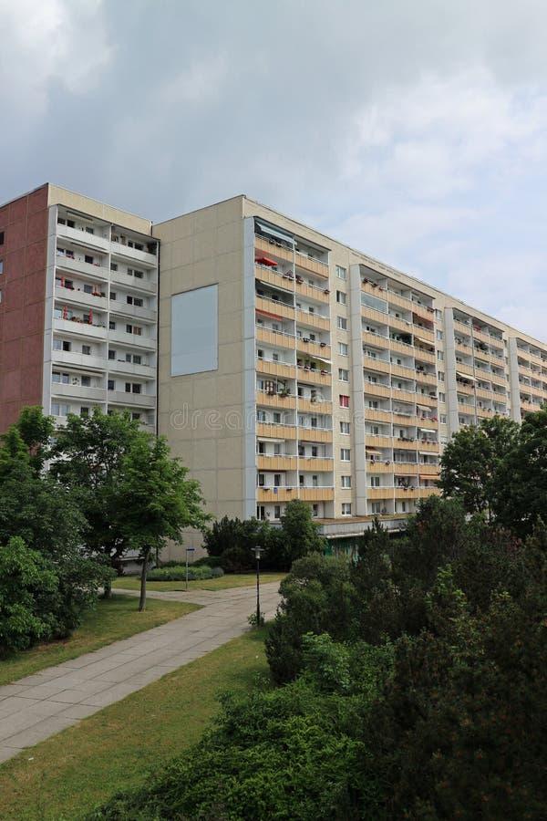 Типичная архитектура от ГДР стоковая фотография