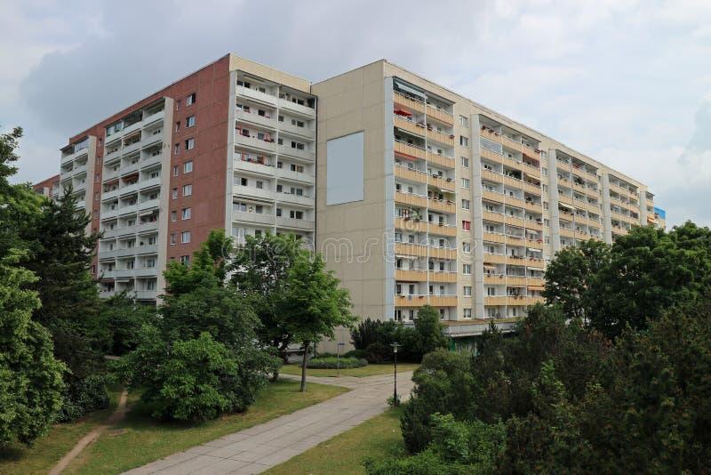 Типичная архитектура от ГДР стоковое фото rf