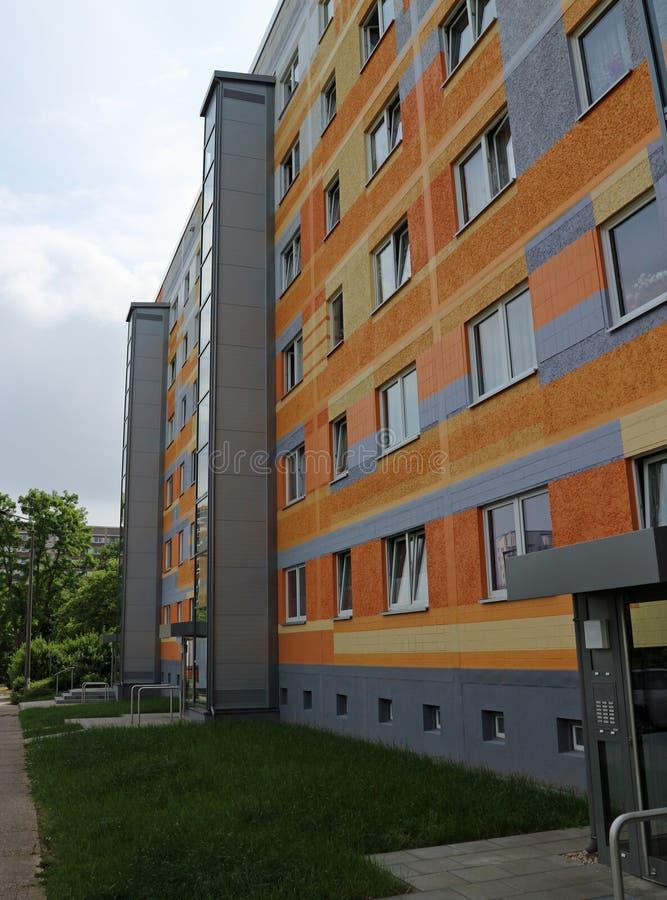Типичная архитектура от ГДР стоковое фото