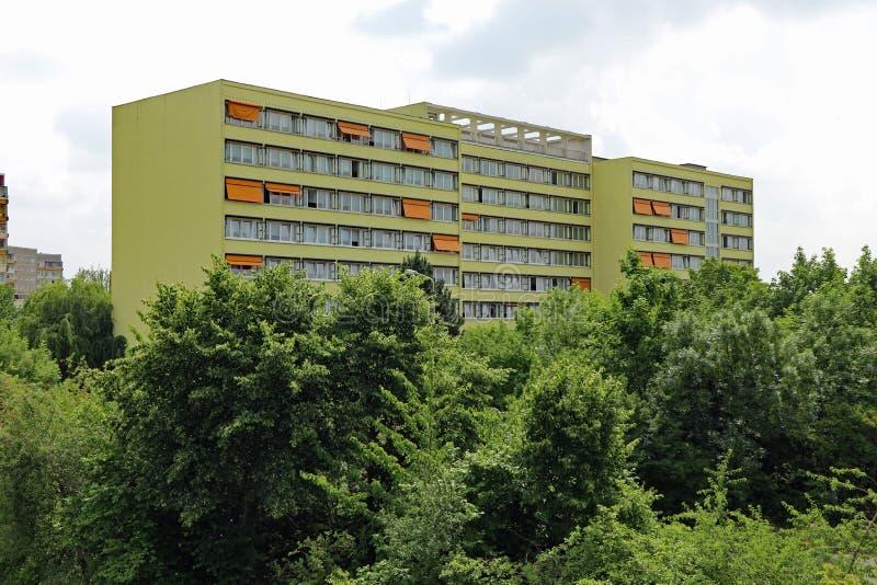 Типичная архитектура от ГДР стоковое изображение