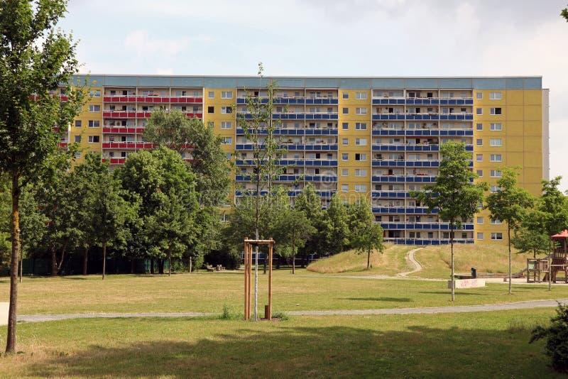 Типичная архитектура от ГДР стоковая фотография rf