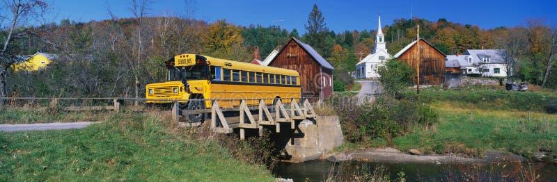 Типично тип городок New England стоковая фотография
