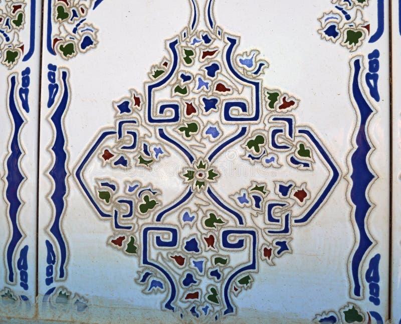 Типичные традиционные испанские керамические плитки стоковые фото