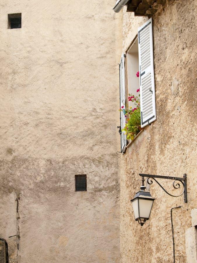 Типичные французские окна стоковое фото