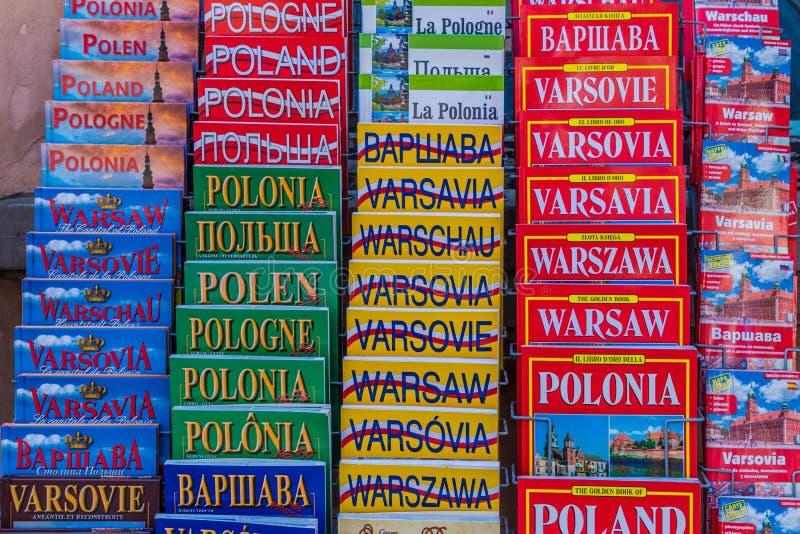 Типичный взгляд в Варшаве в Польше стоковые фото