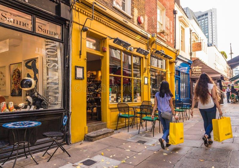 Типичный взгляд в Лондоне стоковое изображение rf