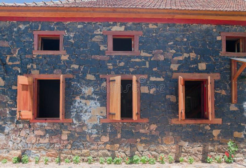 Типичный дом Bento Goncalves Бразилия стоковая фотография