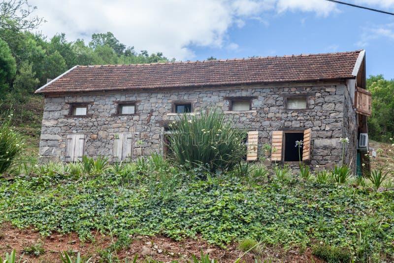 Типичный дом Bento Goncalves Бразилия стоковое фото rf