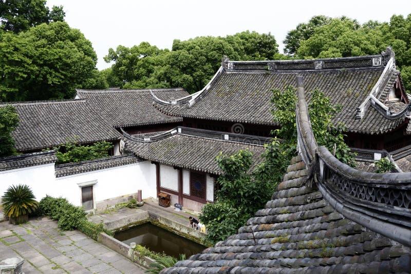 Типичный план виска в Китае стоковое фото