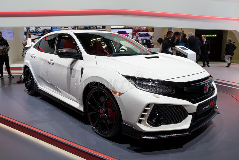 Тип автомобиль Honda Civic r стоковое фото rf