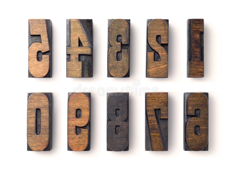 тип древесина цифров стоковое изображение rf