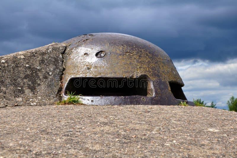 Тип каземат Pamard бункера пулемета стоковая фотография