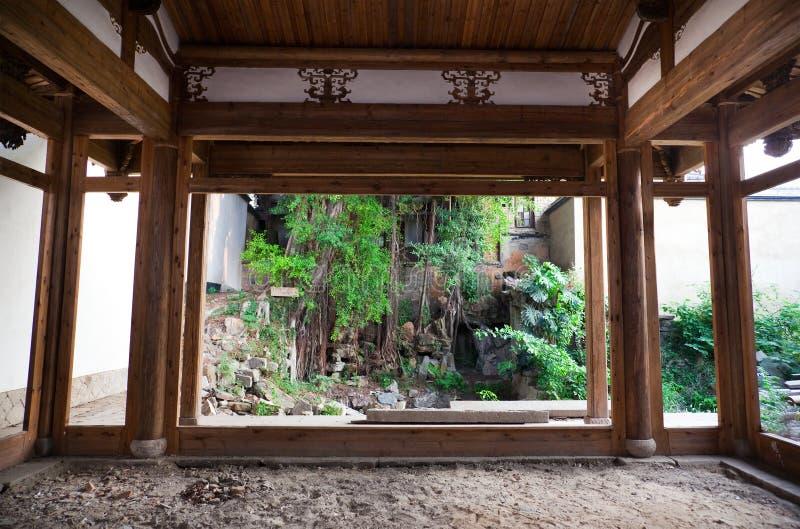тип китайской дома старый стоковое фото