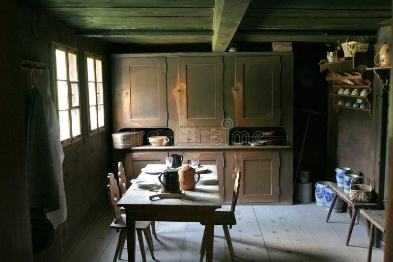 тип кухни старый стоковые фотографии rf