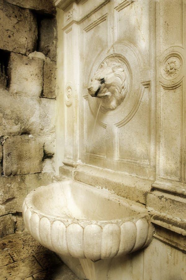 тип фонтана римский стоковое изображение