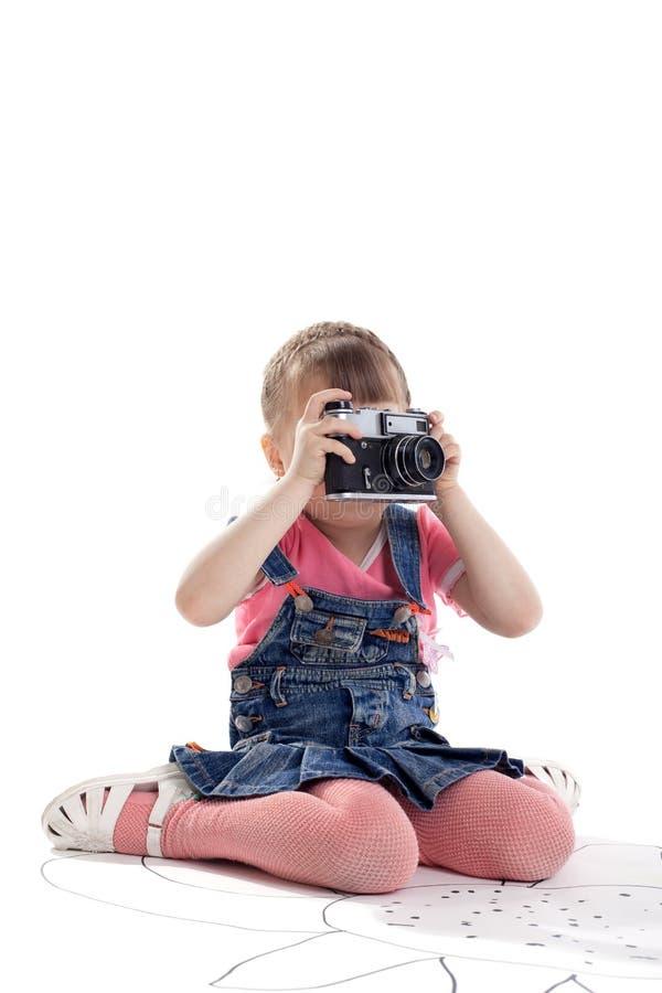 тип фото пленки ребенка камеры старый стоковое изображение rf