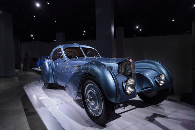 Тип 1936 Bugatti 57SC Атлантика стоковые изображения