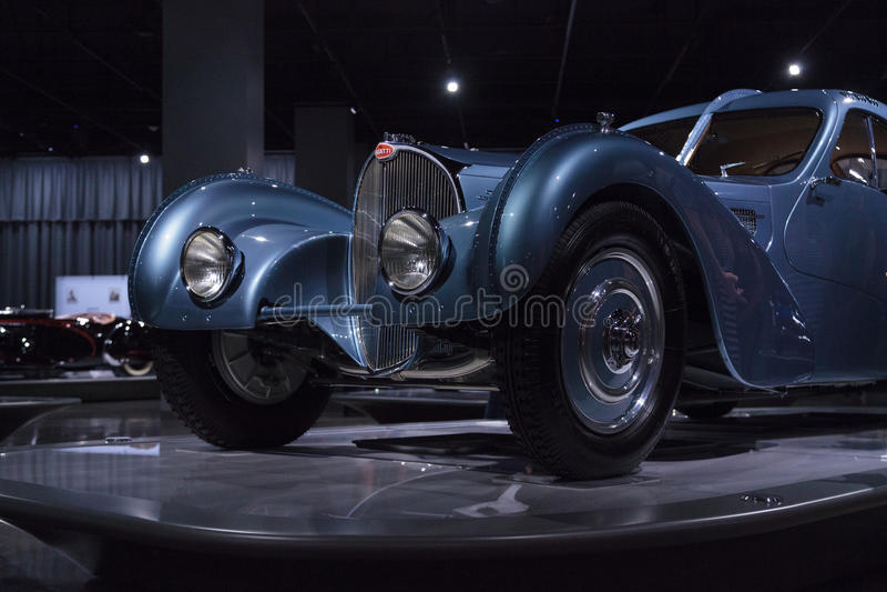 Тип 1936 Bugatti 57SC Атлантика стоковое фото