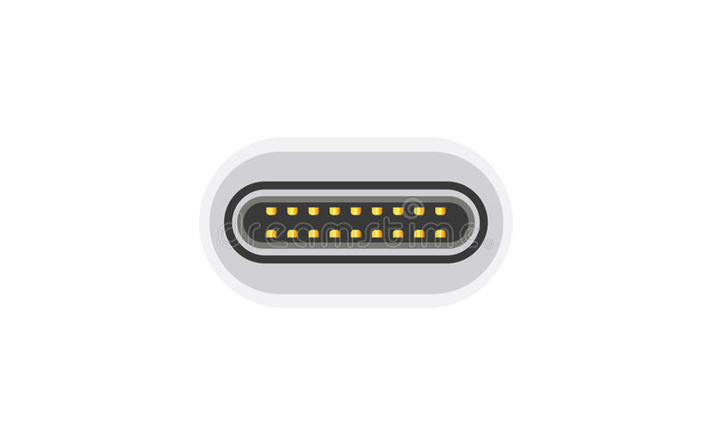 Тип-C кабель USB бесплатная иллюстрация