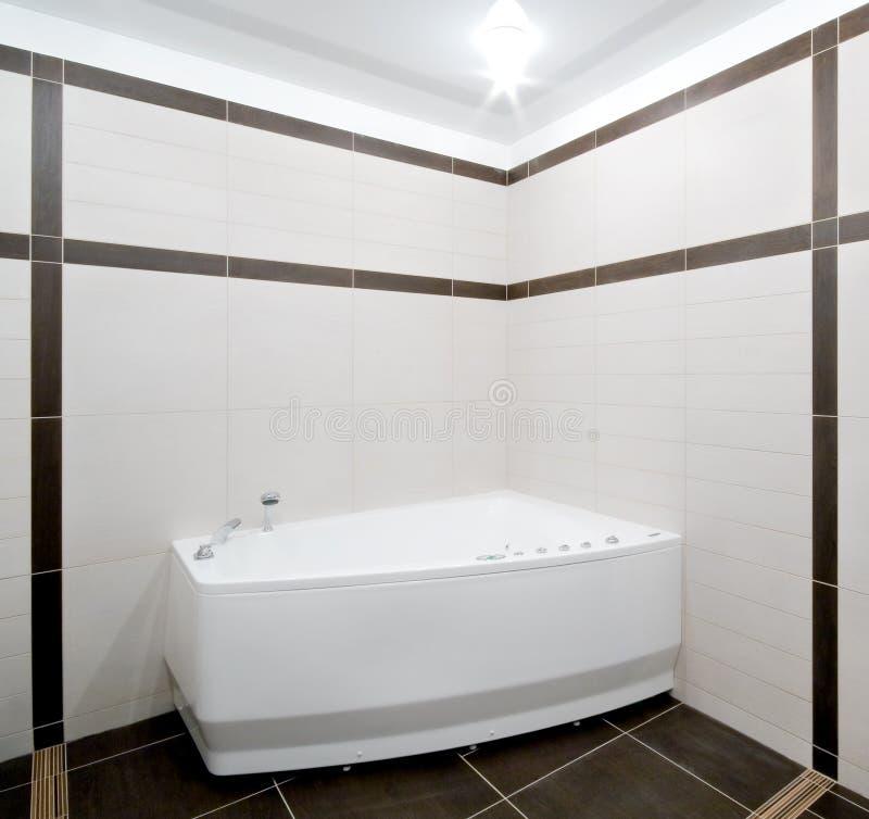 тип minimalism ванной комнаты стоковое изображение