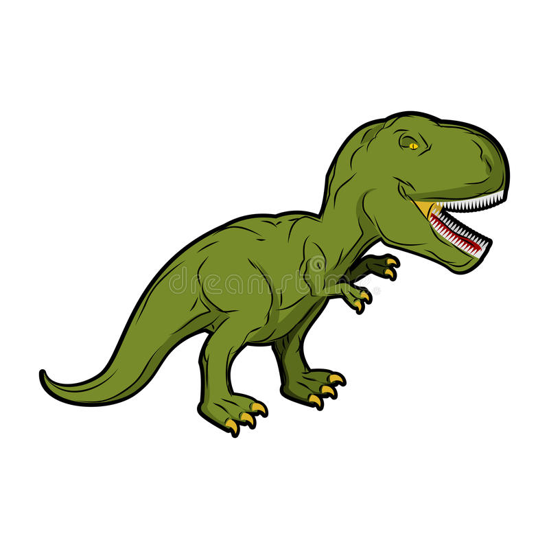 Тиранозавр Rex динозавра Доисторический гад бесплатная иллюстрация