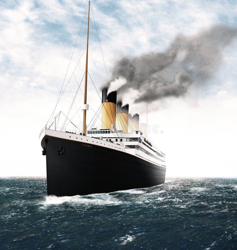 Титаническая выходя Ирландия бесплатная иллюстрация