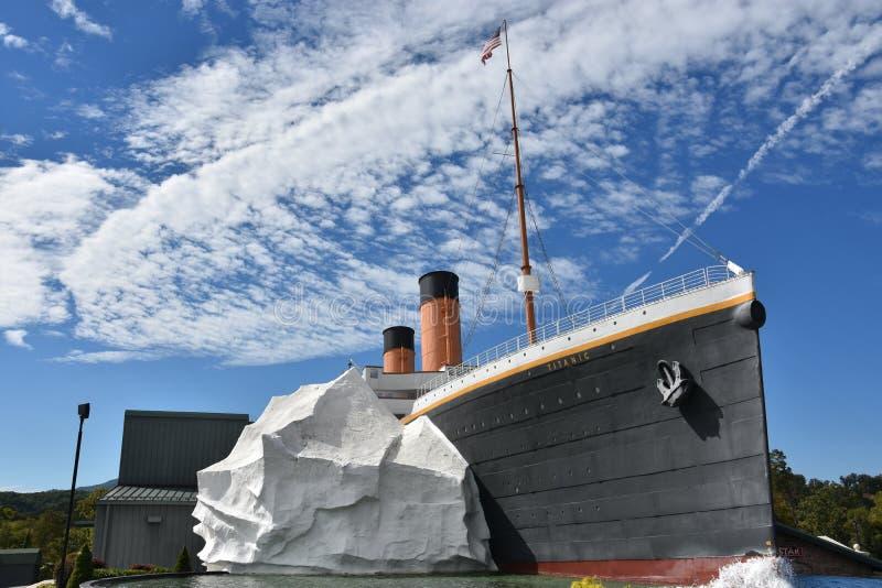 Титанический музей в Pigeon Forge, Теннесси стоковые фото
