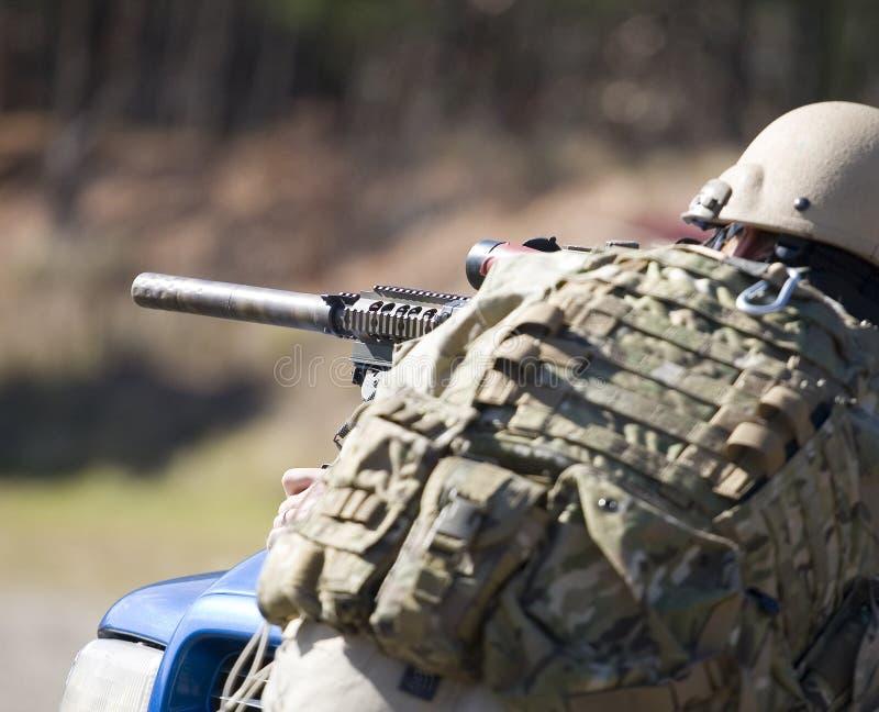 тихая винтовка стоковое фото rf