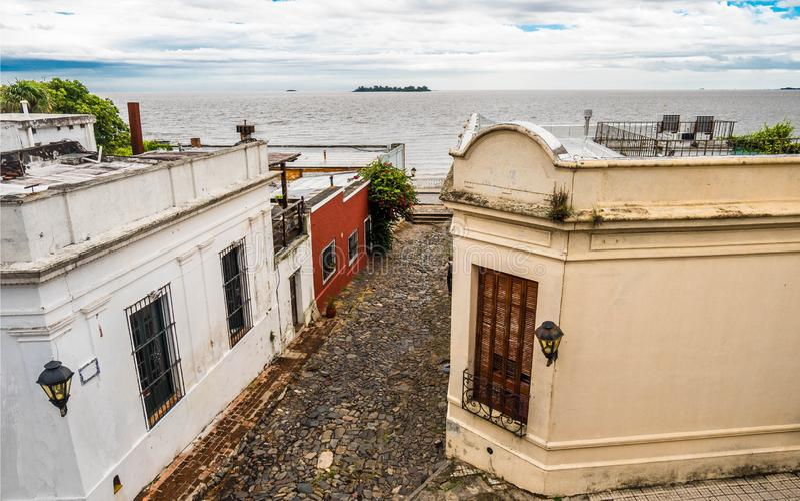 Тихий и старый город диаграмма иллюстрация южные 3 3d америки красивейшая габаритная очень стоковые фото