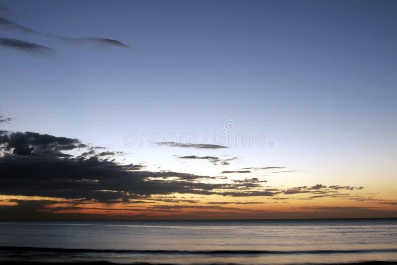 Тихий океан восход солнца стоковое изображение