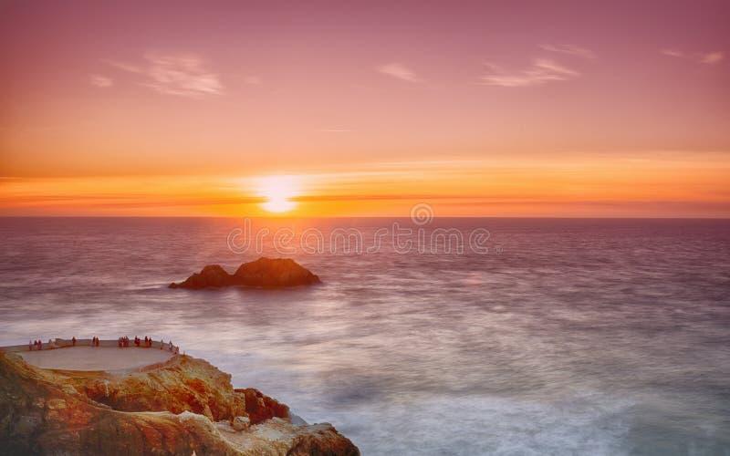 Тихий океан Сан-Франциско стоковые изображения