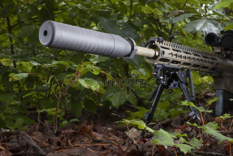 Тихий стрелок стоковое изображение rf