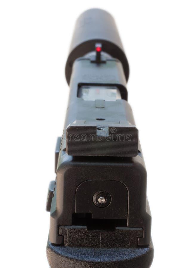 Тихое личное огнестрельное оружие стоковая фотография