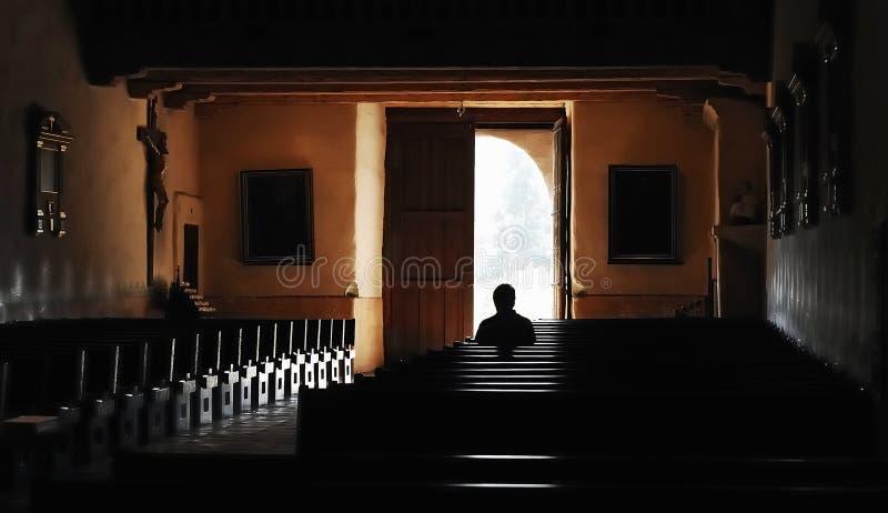 Тихое поклонение стоковая фотография