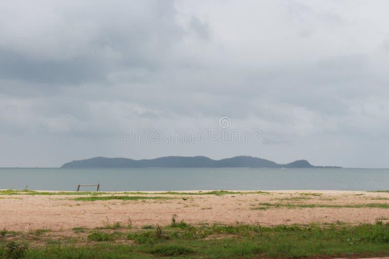 Тишь вида на море, отсутствие людей стоковое изображение rf