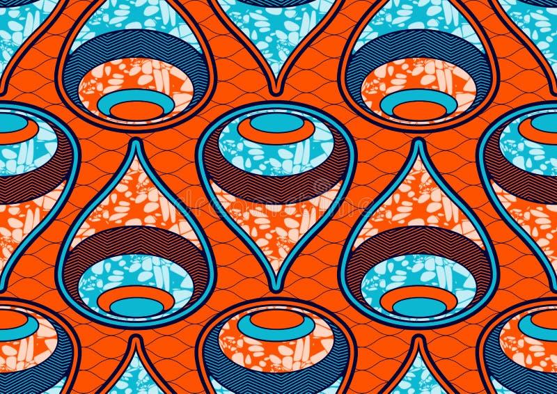 Ткани печати моды ткани воск африканской супер иллюстрация штока